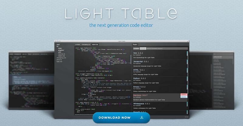 lighttable-ide
